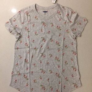 Old Navy Tops - Flamingo print tee